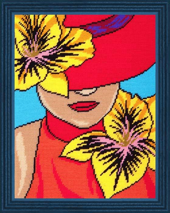 TL-31: Дама в шляпке
