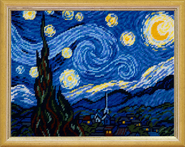 TL-40: «Звёздная ночь», В. ван Гог