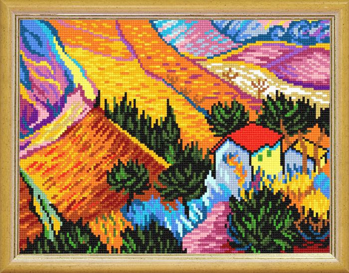 TL-46: «Пейзаж с домом», В. ван Гог