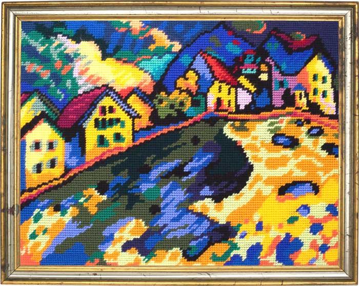 TL-52: «Дома на холме», В. Кандинский