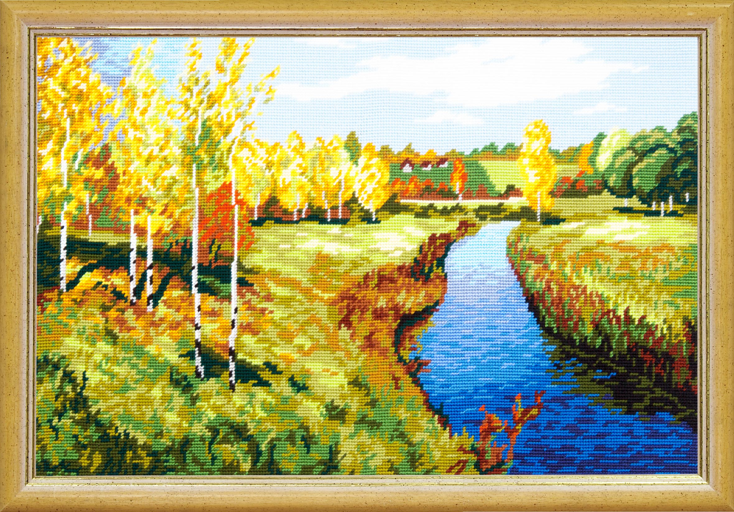 TS-39: «Золотая осень», И. Левитан