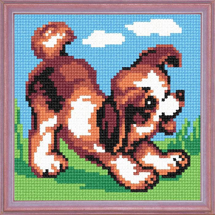 A08 — Веселе щеня