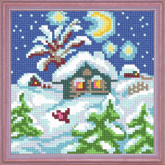 A14 — Зимова хатинка