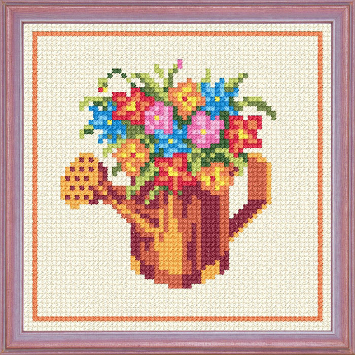 A43 — Лійка з квітами
