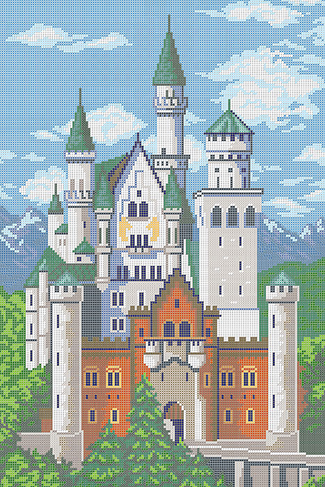 A576 — Замок «Нойшванштайн»