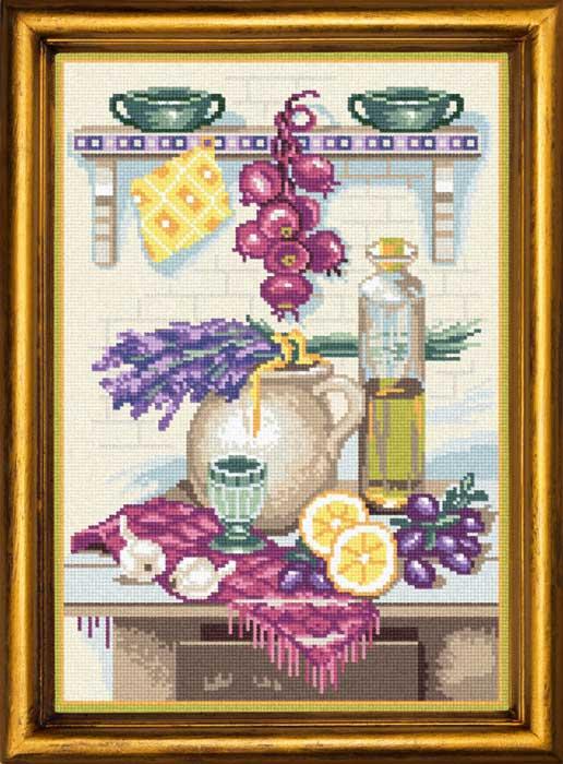 BS22 — Кухонний натюрморт з лавандою