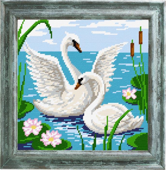 E37 — Пара лебедів