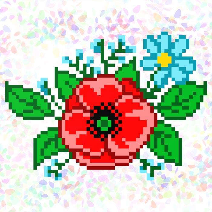 K126 — Польові квіти