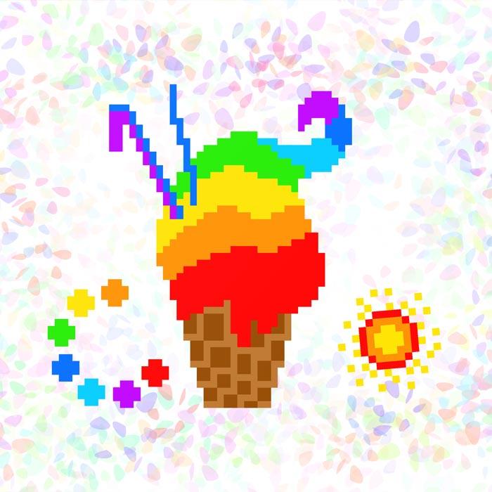 K134 — Райдужне морозиво