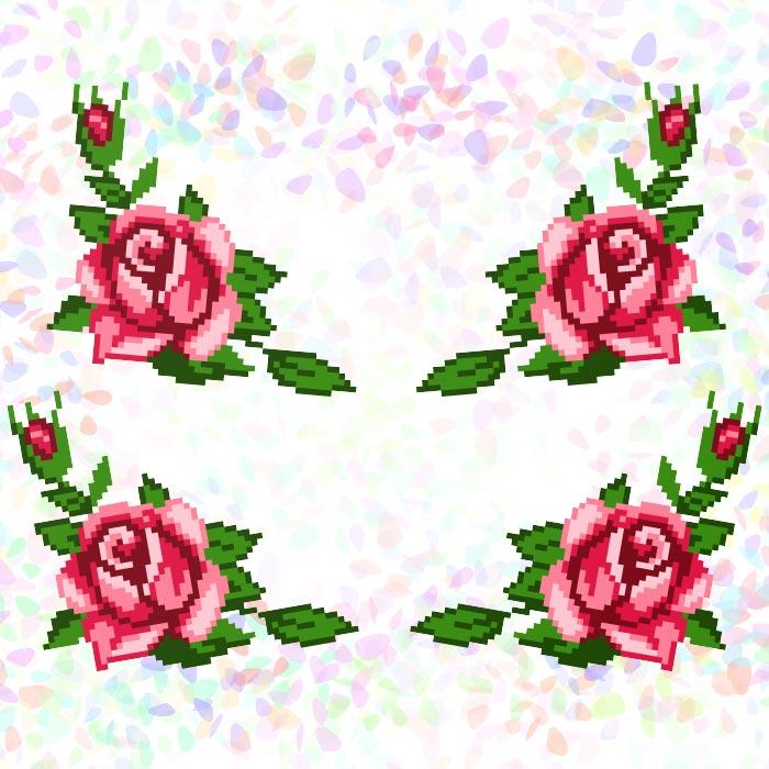 K205 — Троянди (4 фраґменти)