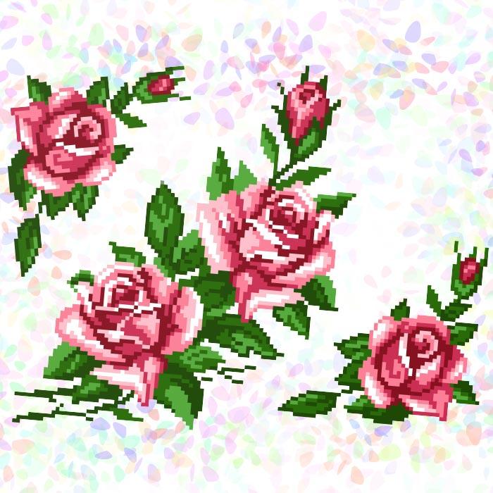 K211 — Троянди (3 фраґменти)