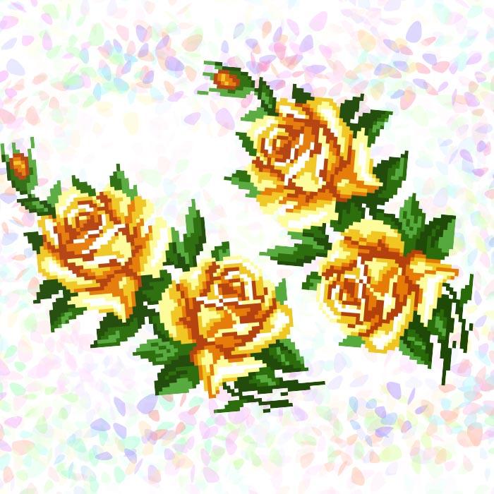 K212 — Жовті троянди (2 фраґменти)
