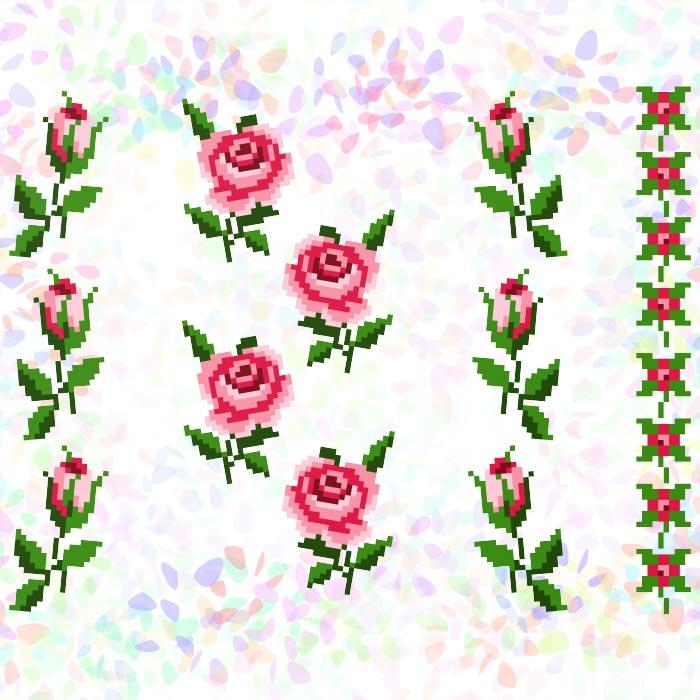 K215 — Маленькі троянди (10 фраґментів)