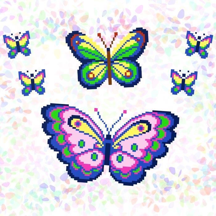 K226 — Метелики (6 фраґментів)