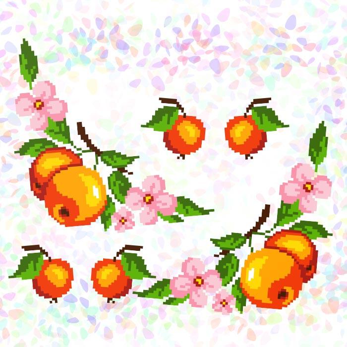 K238 — * Яблука (6 фраґментів)