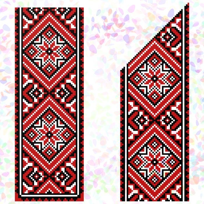 K249 — Червоне та чорне (2 фраґменти)