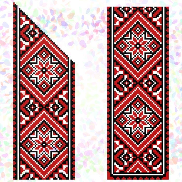 K251 — Червоне та чорне (2 фраґменти)