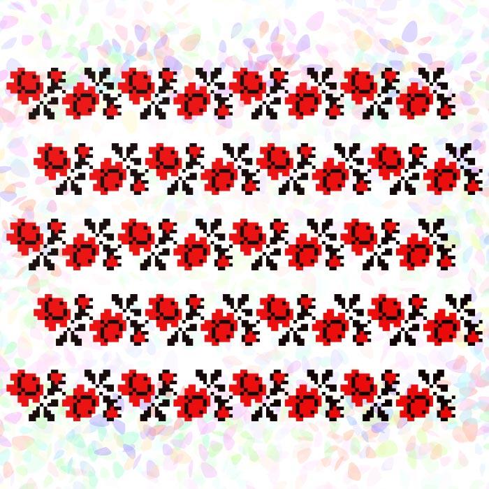 K285 — Троянди (5 фраґментів)