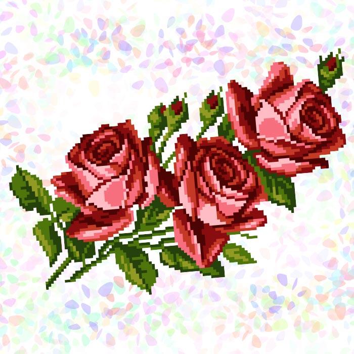 K337 — Букет троянд