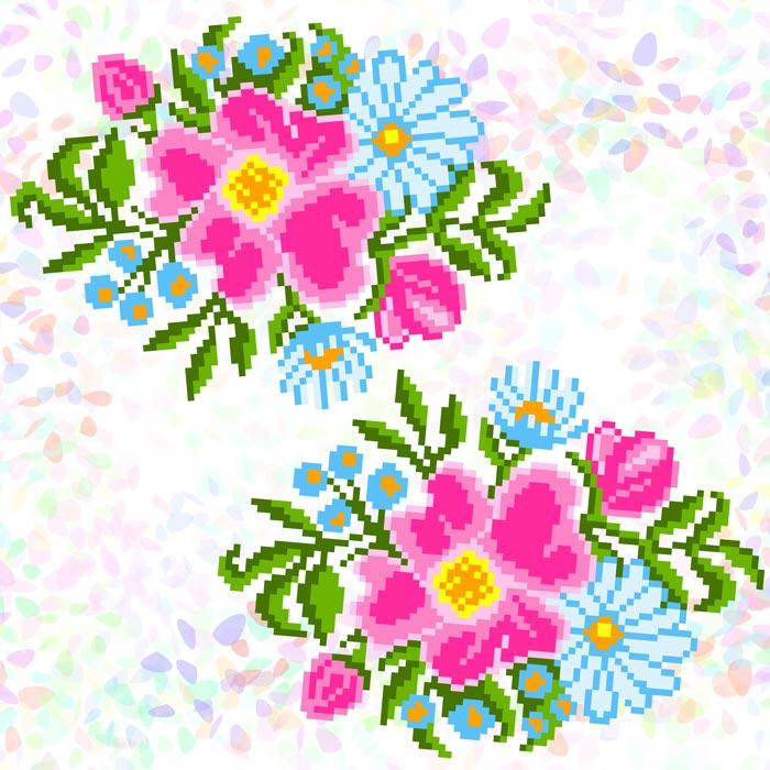 K343 — Польові квіти (2 фраґменти)