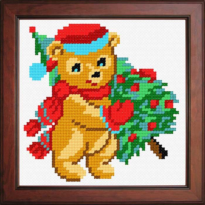 N1204 — Ведмедик з ялинкою