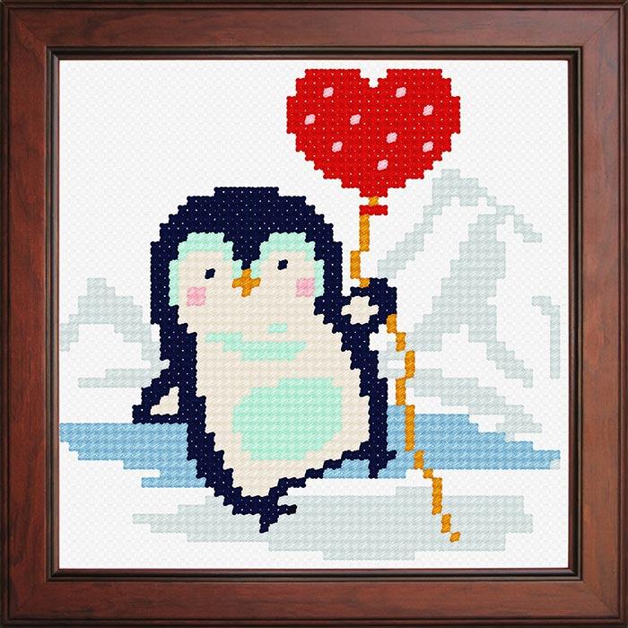 N1295 — Пінгвін з кулькою