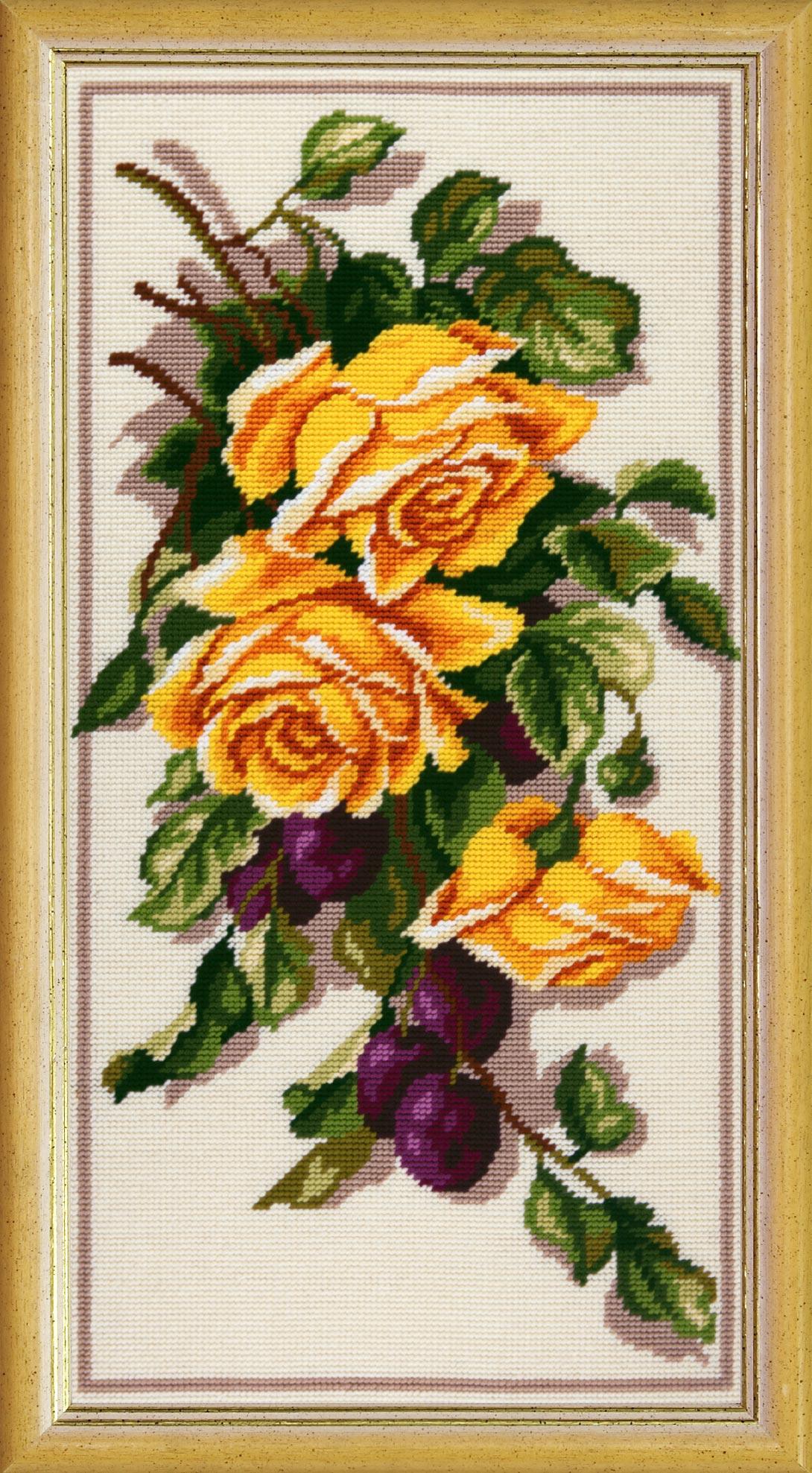 TS62 — Троянди та сливи