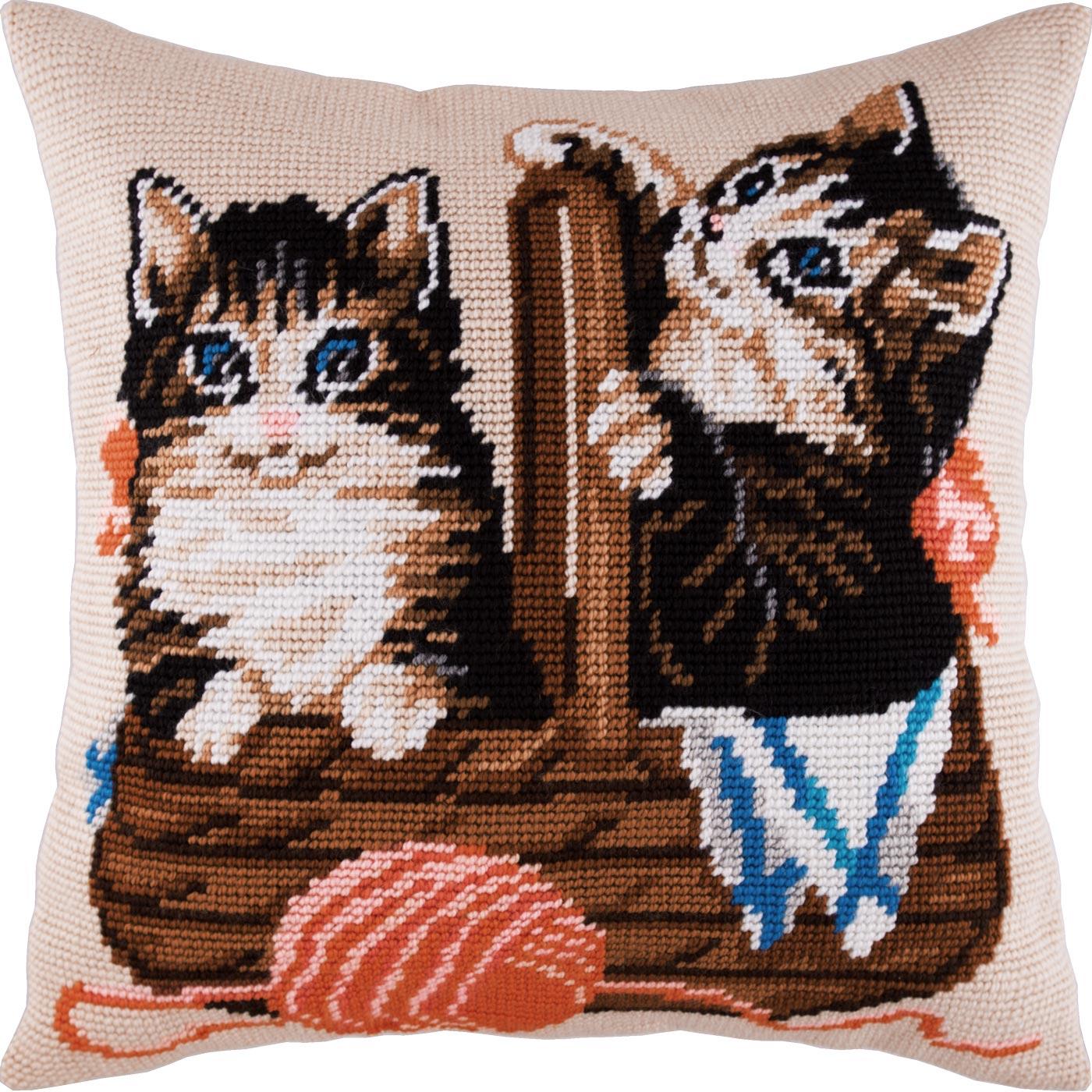 V15 — Кошик кошенят