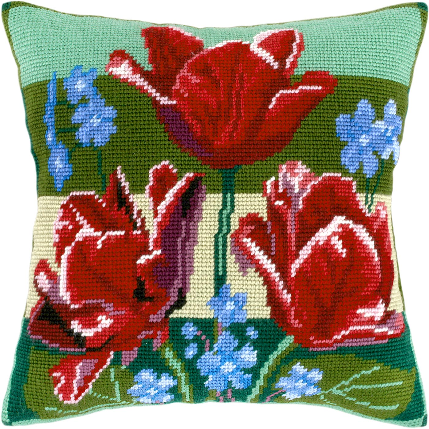 V23 — Тюльпани і незабудьки