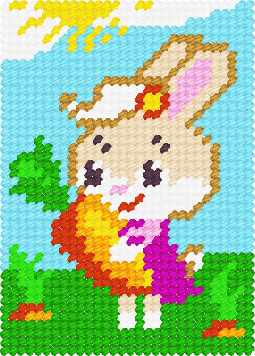 X2132 — Зайка з морквиною