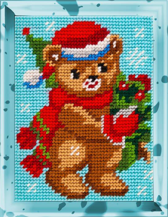 X2225 — Різдвяний ведмедик